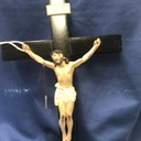 Beautiful hand crafted crucifix 12 inch $40.00 plus tax & shipping