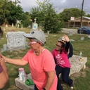 Youth Members Clean the Cemetery photo album thumbnail 11